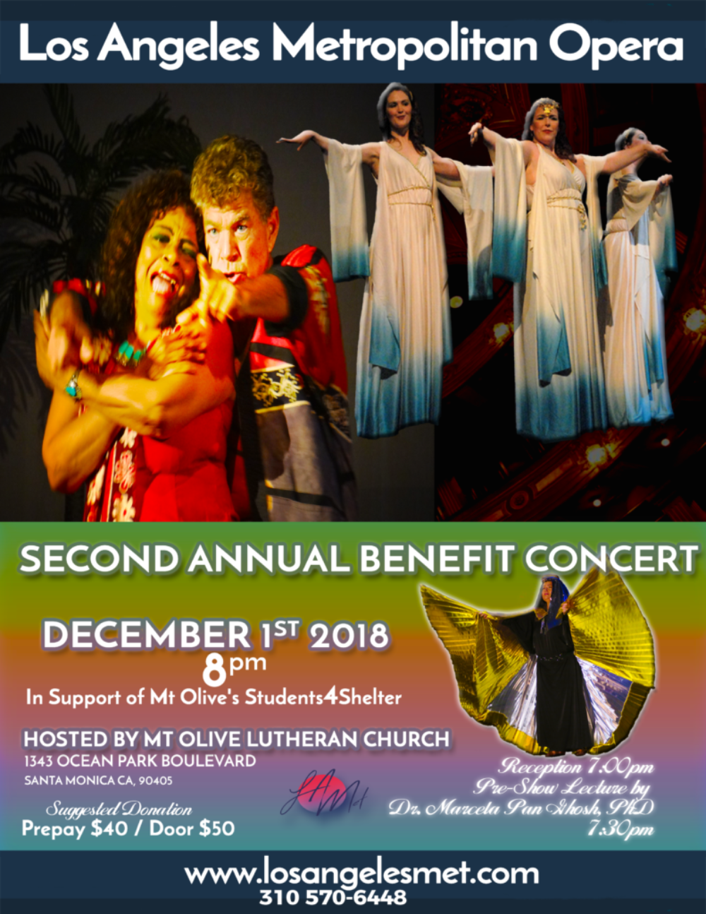 2nd Annual Concert Poster