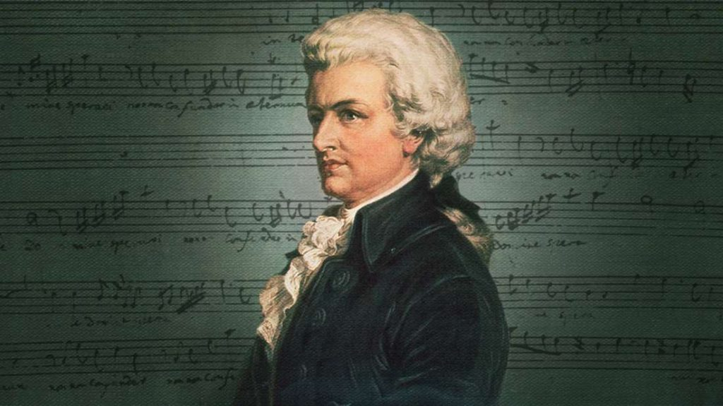 Wolfgang Amadeus Mozart (27 January 1756 – 5 December 1791)